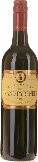 WARRENMANG Grand Pyrenees Dry Red, Pyrenees 2013
