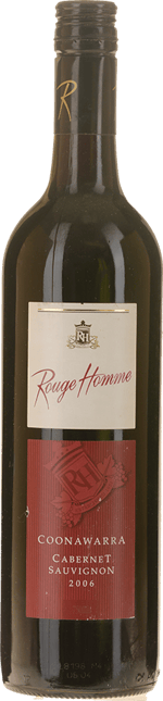 ROUGE HOMME WINERY Cabernet Sauvignon, Coonawarra 2006