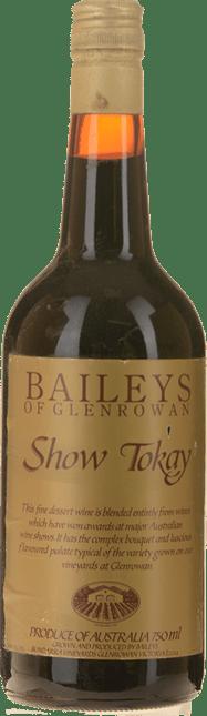 BAILEYS OF GLENROWAN Show Blend Tokay, Glenrowan NV