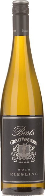 BEST'S WINES Great Western Riesling, Grampians 2018