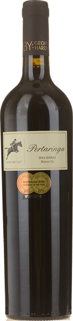 GEOFF HARDY WINES PERTARINGA Over the Top Shiraz, McLaren Vale 2014