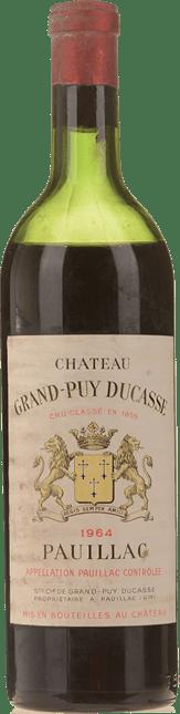 CHATEAU GRAND-PUY-DUCASSE 5me cru classe, Pauillac 1964