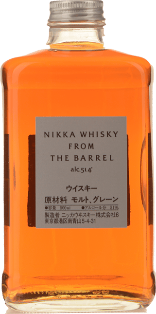 THE NIKKA WHISKY From The Barrel 51% ABV Whisky, Japan NV