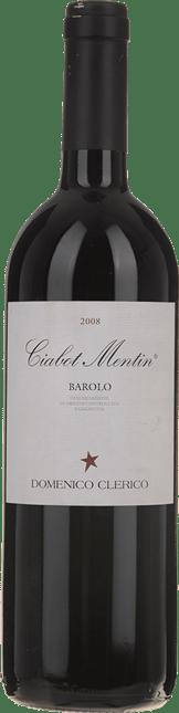 DOMENICO CLERICO Ciabot Mentin, Barolo 2008