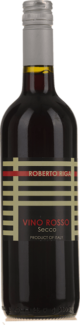 ROBERTO RIGA Vino Rosso Secco, Italy NV