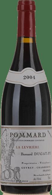 BERNARD DUGAT-PY La Levriere Vieilles Vignes, Pommard 2004