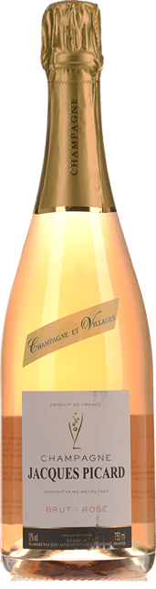 JACQUES PICARD Brut Rose , Champagne NV
