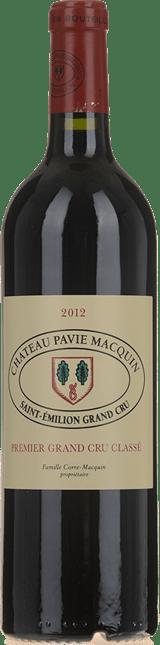 CHATEAU PAVIE-MACQUIN 1er grand cru classe (B), St-Emilion 2012