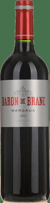 LE BARON DE BRANE Second wine of Chateau Brane-Cantenac, Margaux 2012