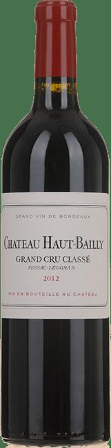 CHATEAU HAUT-BAILLY Grand cru classe, Pessac-Leognan 2012