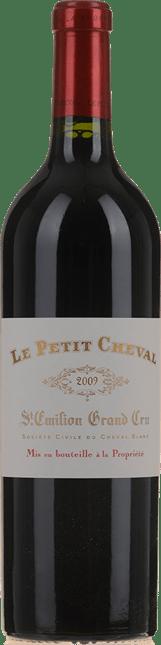 LE PETIT CHEVAL Second wine of Chateau Cheval Blanc, St-Emilion 2009