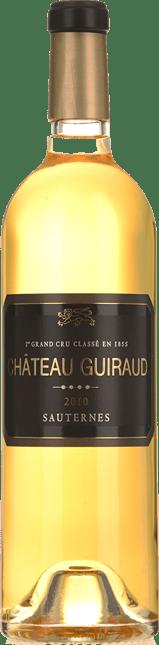 CHATEAU GUIRAUD 1er cru classe, Sauternes 2010