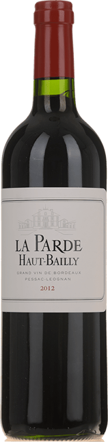 LA PARDE DE HAUT BAILLY Second wine of Chateau Haut-Bailly, Pessac-Leognan 2012