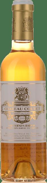 CHATEAU COUTET, 1er cru classe, Sauternes-Barsac 2009