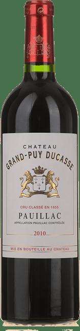 CHATEAU GRAND-PUY-DUCASSE 5me cru classe, Pauillac 2010