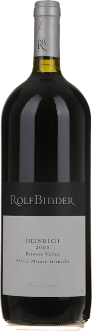 ROLF BINDER VERITAS WINERY Heinrich Vineyard Shiraz Mataro Grenache, Barossa Valley 2005