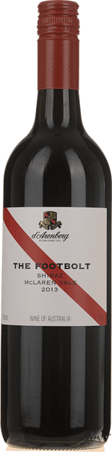 D'ARENBERG WINES The Footbolt Old Vine Shiraz, McLaren Vale 2013