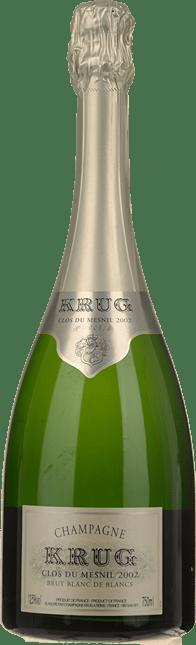 KRUG Clos du Mesnil Blanc de Blancs, Champagne 2002
