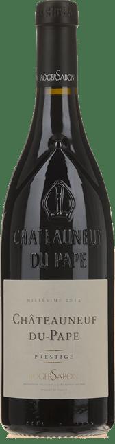 DOMAINE ROGER SABON Cuvee Prestige, Chateauneuf-du-Pape 2012