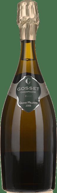 GOSSET Grand Millesime Brut, Champagne 2006