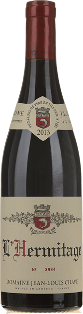 J.L. CHAVE Rouge, Hermitage 2013
