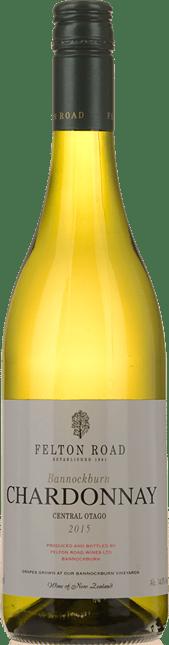 FELTON ROAD Bannockburn Chardonnay, Central Otago 2015