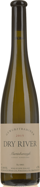 DRY RIVER Lovat Vineyard Gewurztraminer, Martinborough/Wairarapa 2015