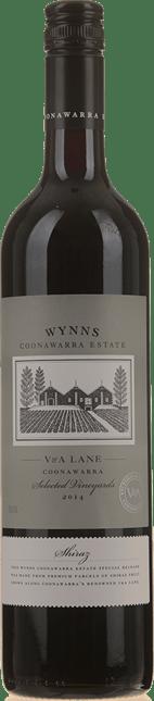 WYNNS COONAWARRA ESTATE V & A  Lane Shiraz, Coonawarra 2014