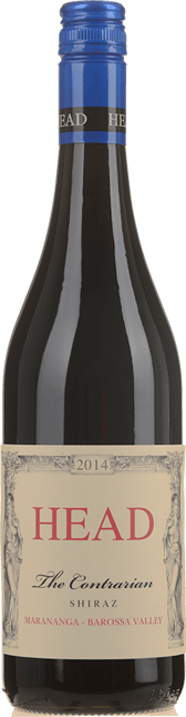 HEAD The Contrarian Single Vineyard Shiraz, Barossa Valley 2014