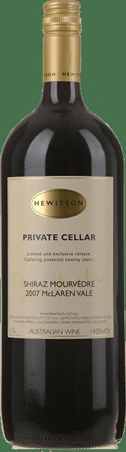 HEWITSON Private Cellar Shiraz Mourvedre, McLaren Vale 2007