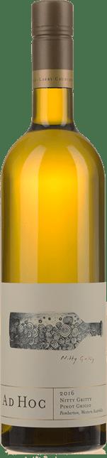 AD HOC Nitty Gritty Pinot Grigio, Pemberton, WA 2016