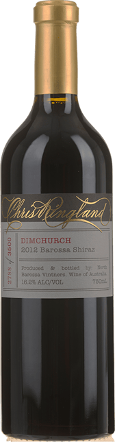 CHRIS RINGLAND Dimchurch Shiraz, Barossa Valley 2012