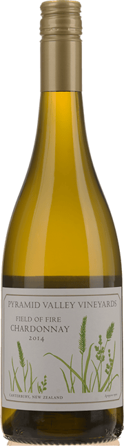 PYRAMID VALLEY VINEYARDS Field of Fire Chardonnay, Canterbury 2014