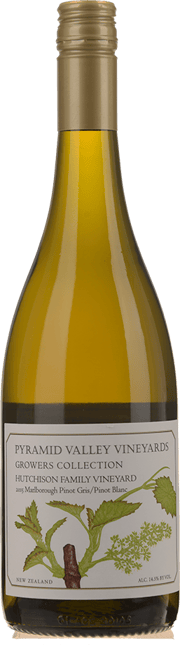 PYRAMID VALLEY VINEYARDS Growers Collection Hutchison Family Vineyard Pinot Gris/Pinot Blanc 2015