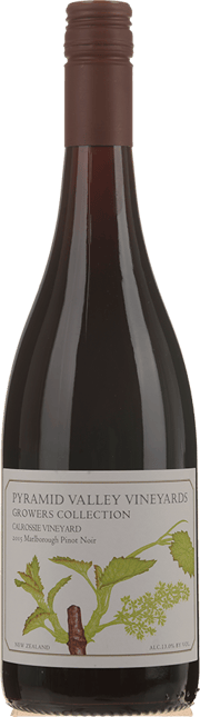 PYRAMID VALLEY VINEYARDS Growers Collection Calrossie Vineyard Pinot Noir 2015