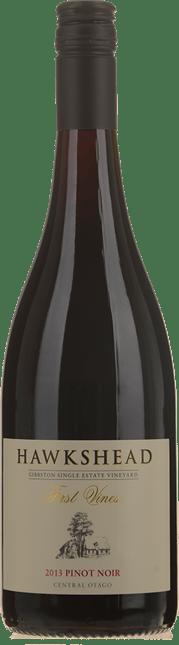 HAWKSHEAD VINEYARD First Vines Pinot Noir, Central Otago 2013