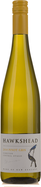 HAWKSHEAD VINEYARD Pinot Gris, Central Otago 2014