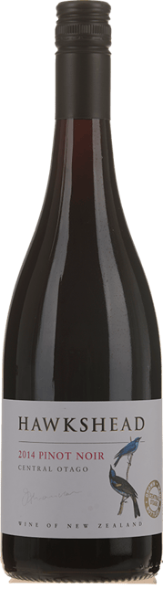 HAWKSHEAD VINEYARD Pinot Noir, Central Otago 2014