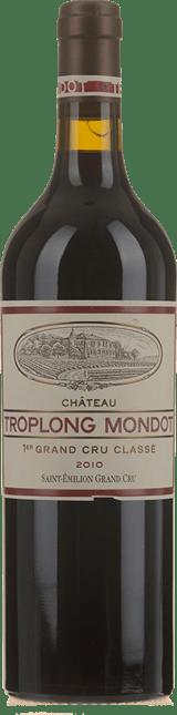 CHATEAU TROPLONG-MONDOT 1er grand cru classe (B), St-Emilion 2010