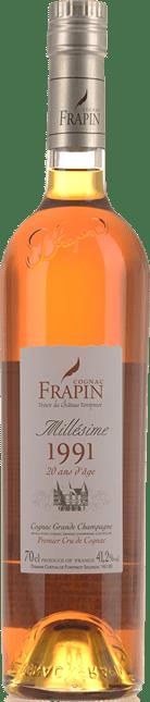COGNAC FRAPIN 20 y.o. Grande Champagne Cognac 1991 41.2% , Cognac 1991
