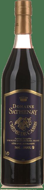 SATHENAY Creme de Cassis 20% , Burgundy NV
