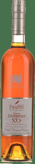 COGNAC FRAPIN Chateau Fontpinot XO Grande Champagne Cognac 41% , Cognac NV