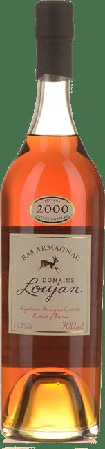 LOUJAN 2000 Armagnac 46.5% , Bas Armagnac 2000