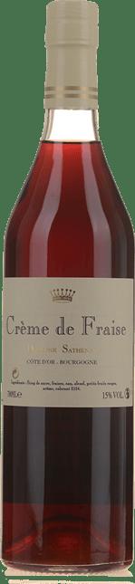 SATHENAY Creme de Fraise 15% ABV, Burgundy NV