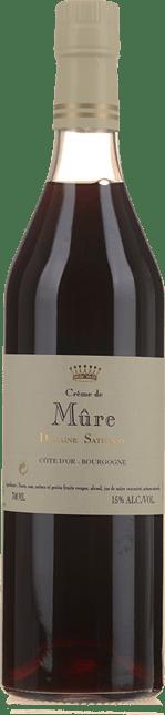 SATHENAY Creme de Mure 15% , Burgundy NV