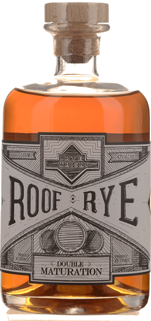 DISTILLERIE WARENGHEM Roof Rye Whisky Double Maturation 43% ABV, Bretagne NV