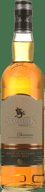 DISTILLERIE WARENGHEM Armorik Dervenn Single Malt Whisky 46% ABV, Bretagne NV