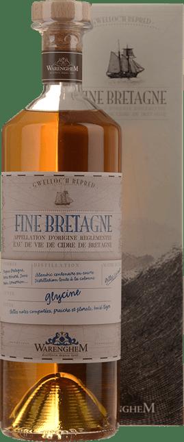 DISTILLERIE WARENGHEM Fine Bretagne Glycine 40% , Bretagne NV