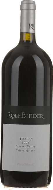 VERITAS ROLF BINDER WINES Hubris Shiraz Mataro, Barossa Valley 2004