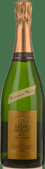 VAZART-COQUART & FILS Grand Bouquet Blanc de Blanc Grand Cru Brut, Champagne 2009